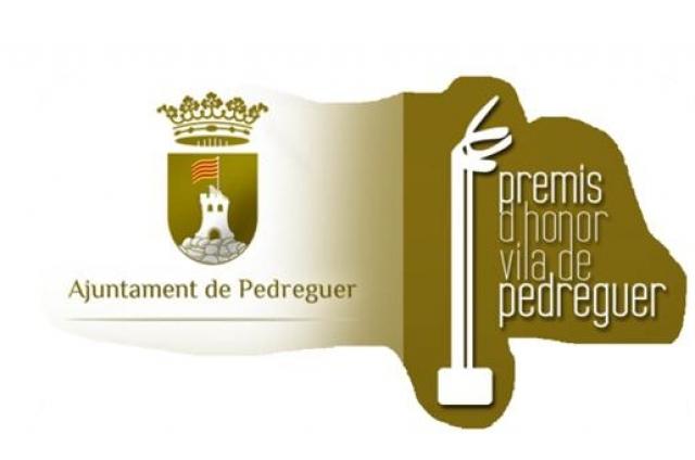 XXVIII PREMIS D'HONOR VILA DE PEDREGUER - 2019   LLIURAMENT DEL PREMIS
