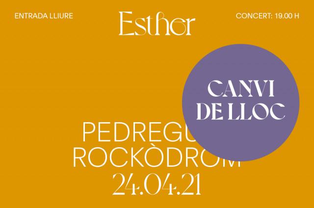 DIADAD DEL 25 D'ABRIL. Concert amb Esther