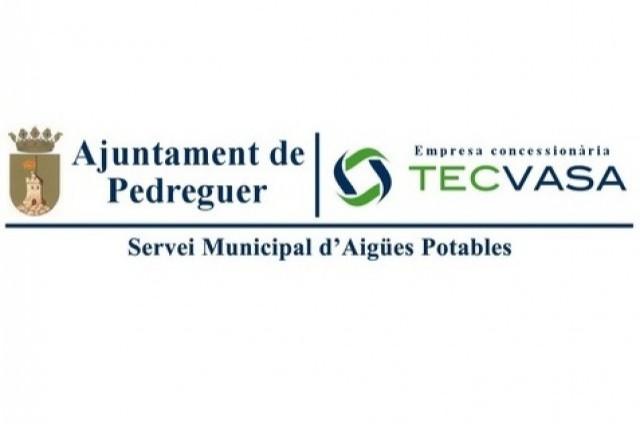 TALL D'AIGUA PER TALL SUMINISTRE ELECTRIC 21/05/2018