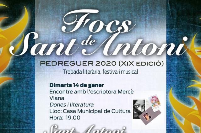 FOCS DE SANT ANTONI 2020 (XIX edició)  Trobada literària, festiva i musical