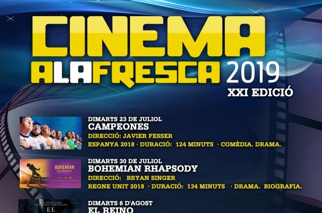 CINEMA A LA FRESCA. Campeones