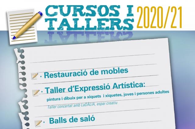 CURSOS I TALLERS 2020 - 2021
