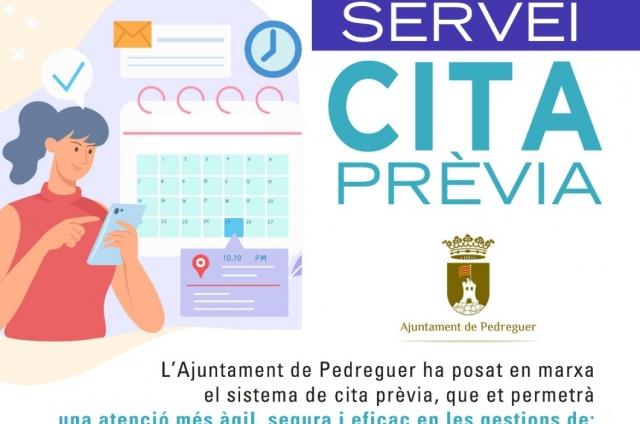 SERVEI CITA PRÈVIA. CERTIFICATS DIGITALS I PADRÓ