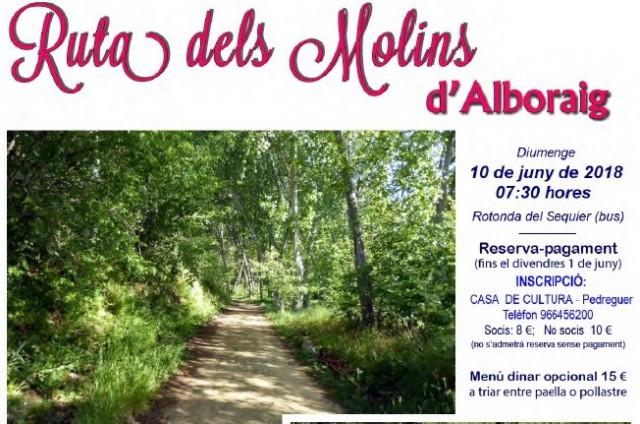 RUTA DELS MOLINS D'ALBORAIG