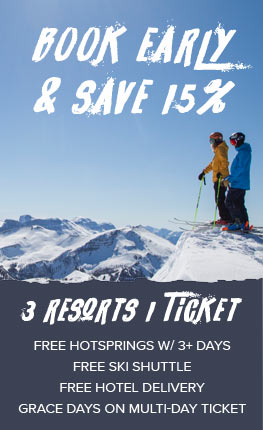Book early and save 15%