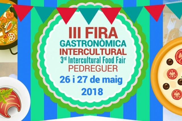 III FIRA GASTRONÒMICA INTERCULTURAL DE PEDREGUER