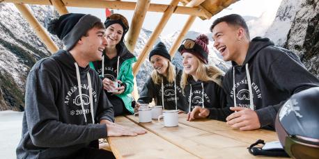 Crew T-Shirts for Your Next Après-Ski Party
