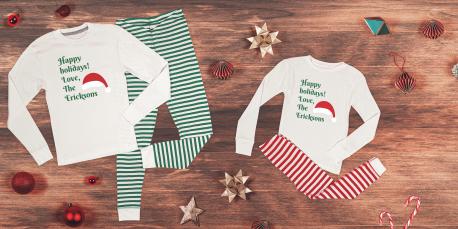 Matching Pajamas for Your Christmas Crew
