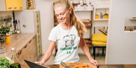 5 einfache und stylische Tipps für gesundes Kochen im Homeoffice