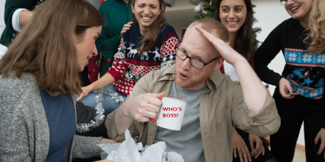 Secret Santa vs Corona – The Office Gift Edition