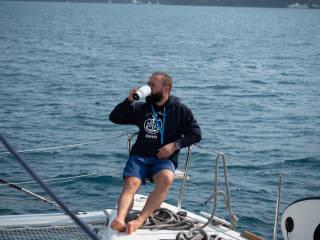 Kapitän mit personalisierten Hoodie