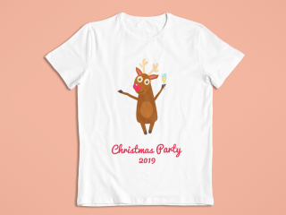 Personalized T-Shirt for Christmas Party