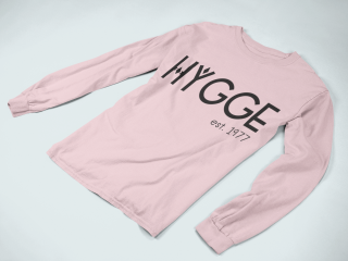Customised Sweater with Hygge Design