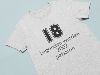 T-Shirt mit selbst gestaltetem Design