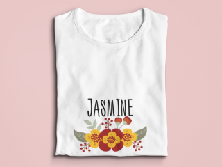 T-Shirt with customized design