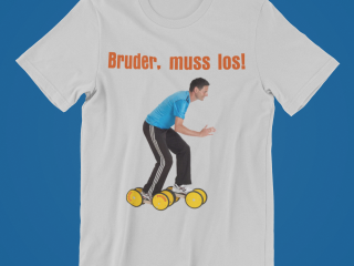Lustiges T-Shirt mit Pedalo