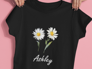 T-Shirt with personalized design