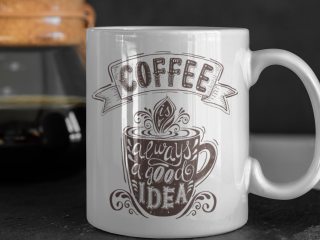 Mug with personalized design