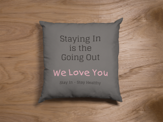 custom pillow for staying in on the couch