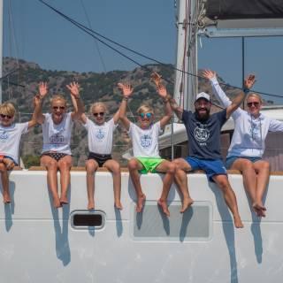 Individuelle Crew Shirts und mehr für Tage am Meer