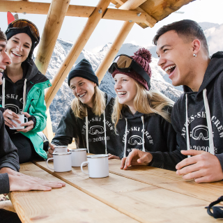 Crew T-Shirts for Your Next Après-Ski Party
