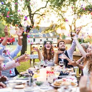 Die mit Abstand beste Hochzeit. Liebe in Zeiten von Corona.