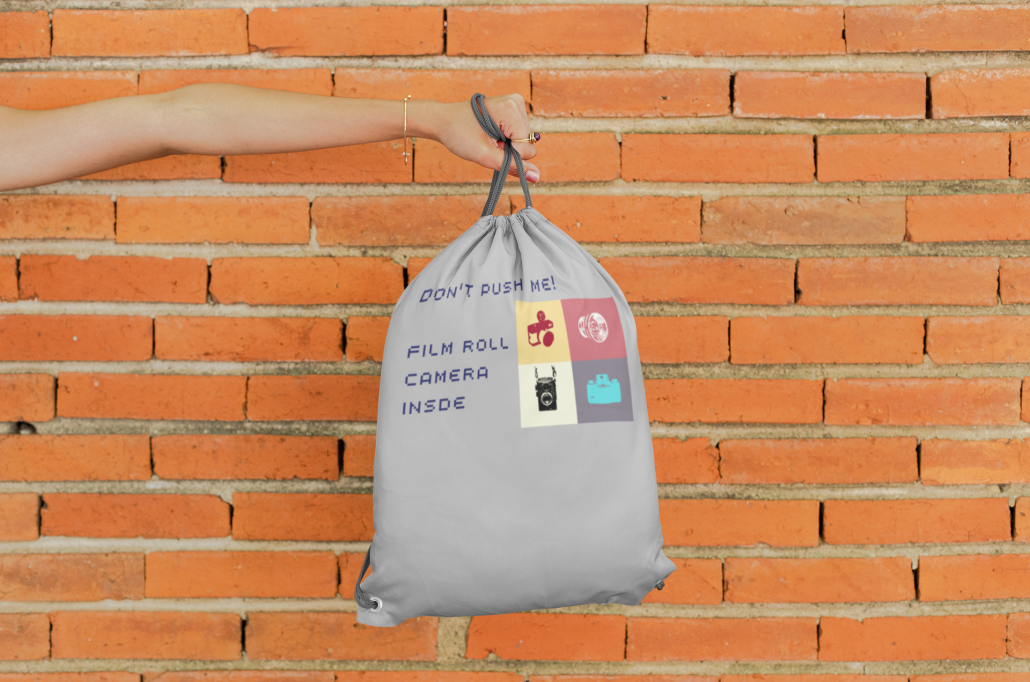 girl_holdin_custom_drawstring_bag