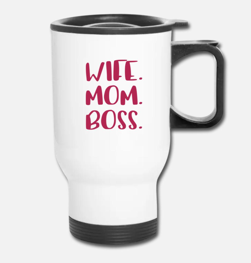 custom travel mug for mom