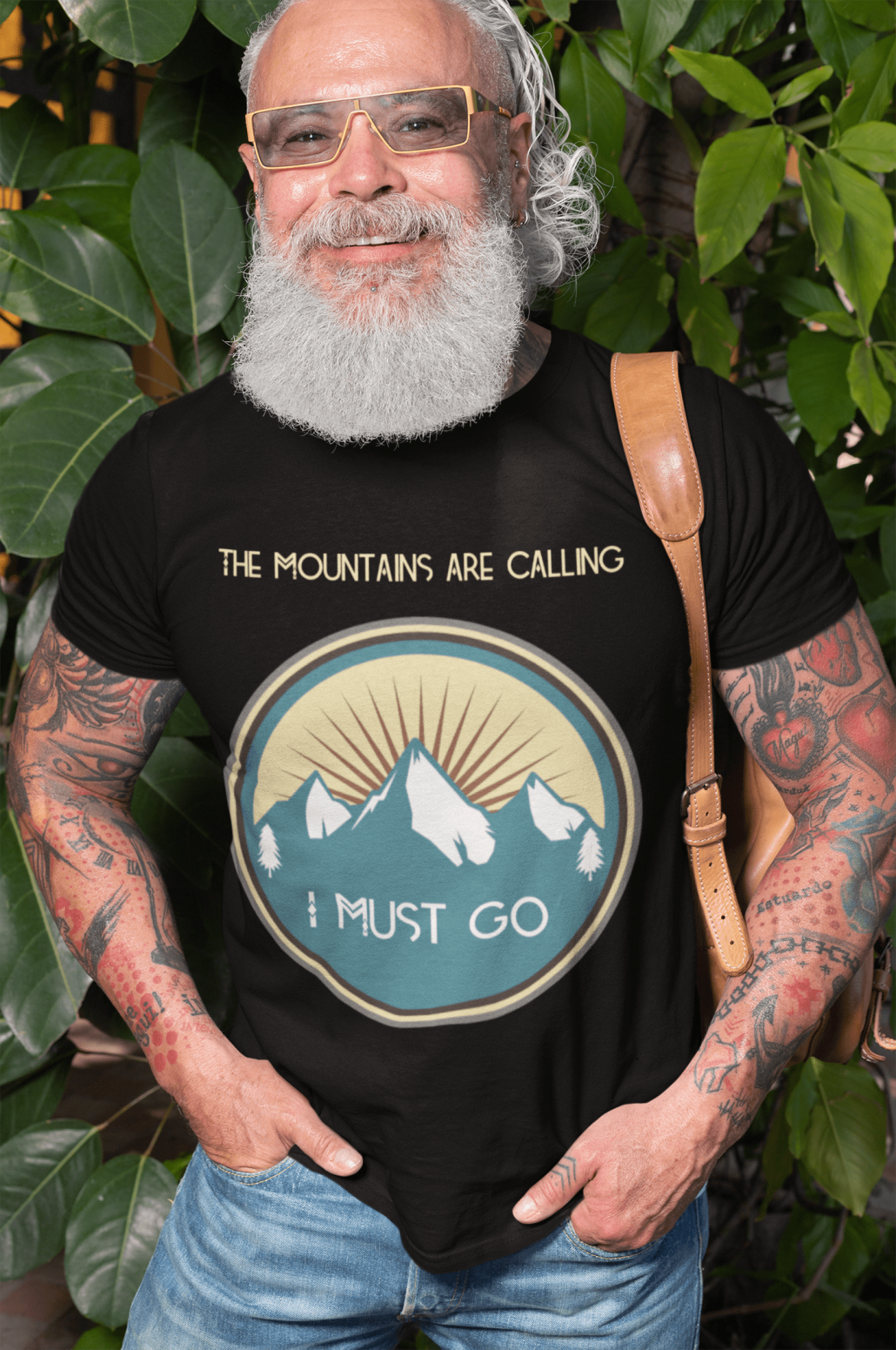 Men's T-shirt the mountains are calling