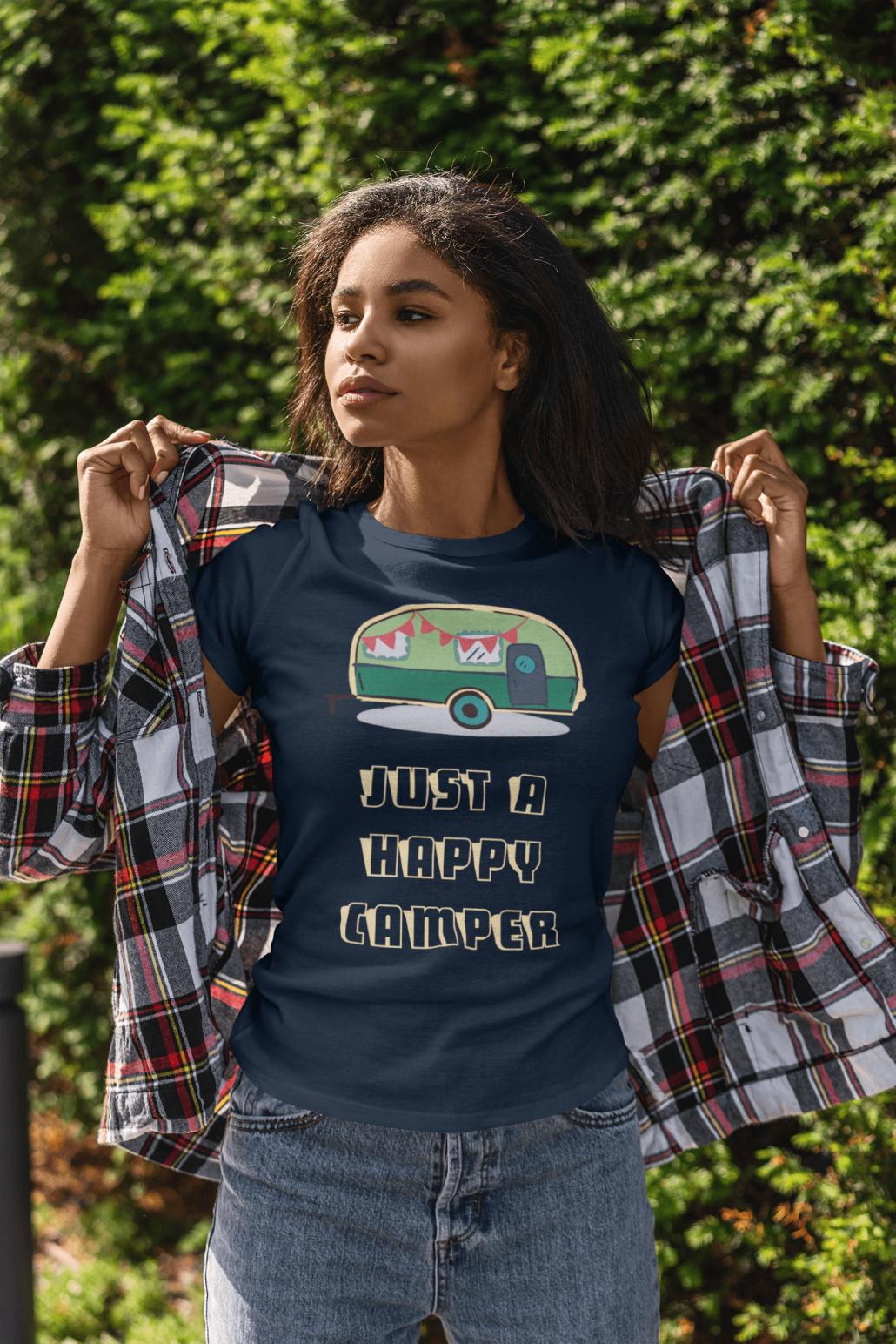 Women's T-shirt with camper van