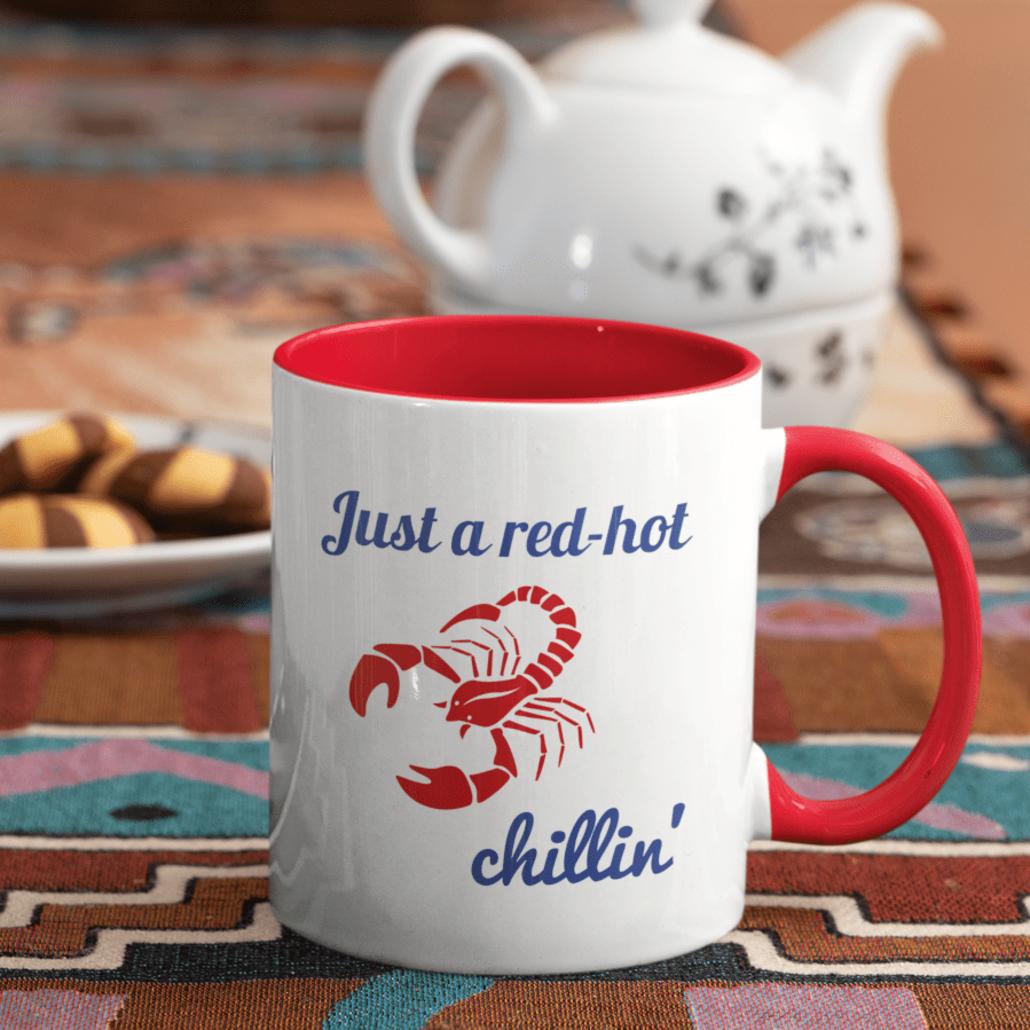 Custom Scorpio mug