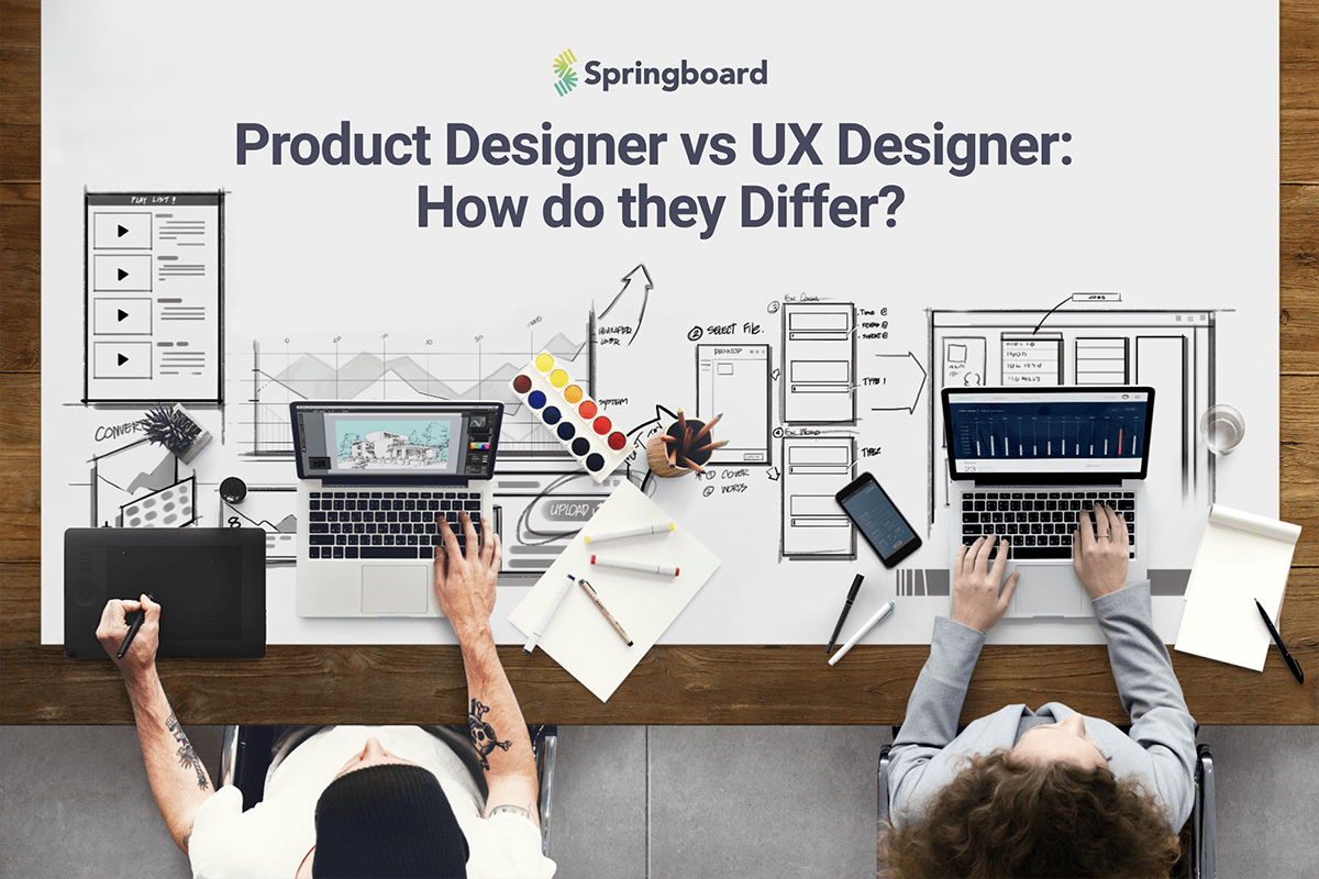 Product Designer Vs Ux Designer How Do They Differ Springboard Blog