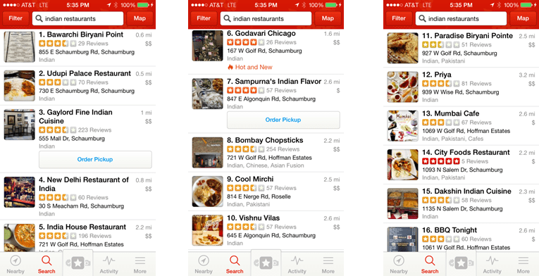 "Eat, Rate, Love"" — An Exploration of R, Yelp, and the Search"