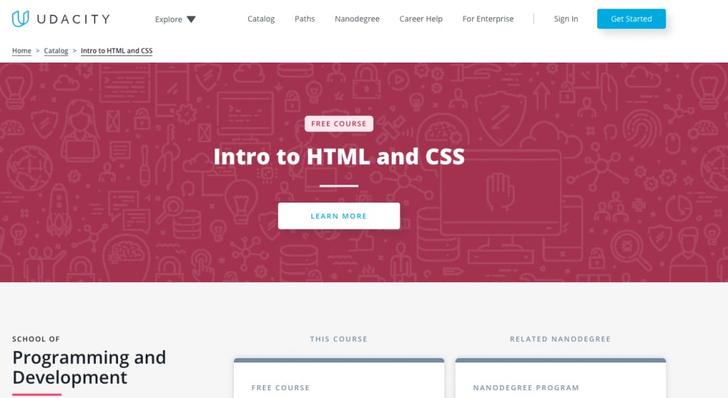 udacity html course