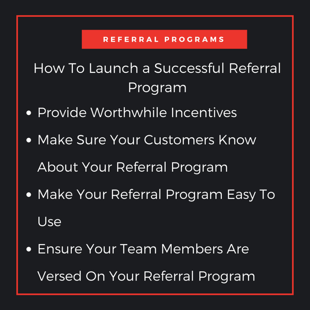 how to launch a successful referral program