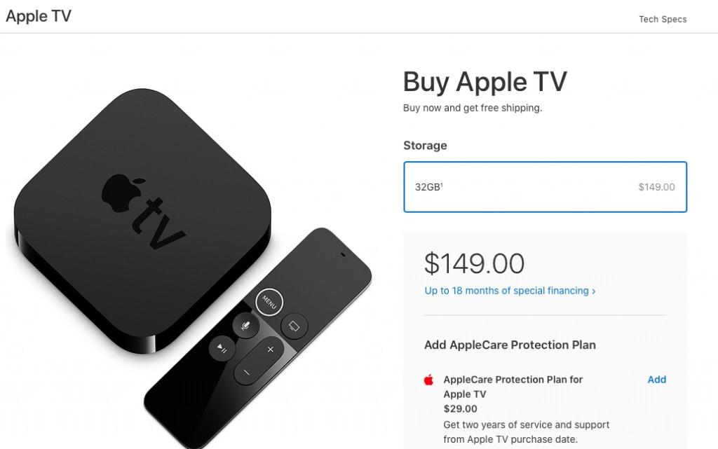 Buy an Apple TV