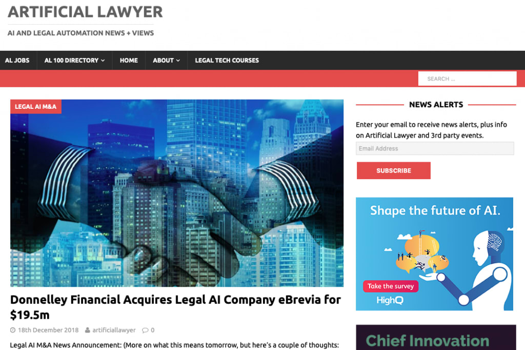 Artificial Lawyer