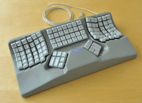 An adaptive keyboard