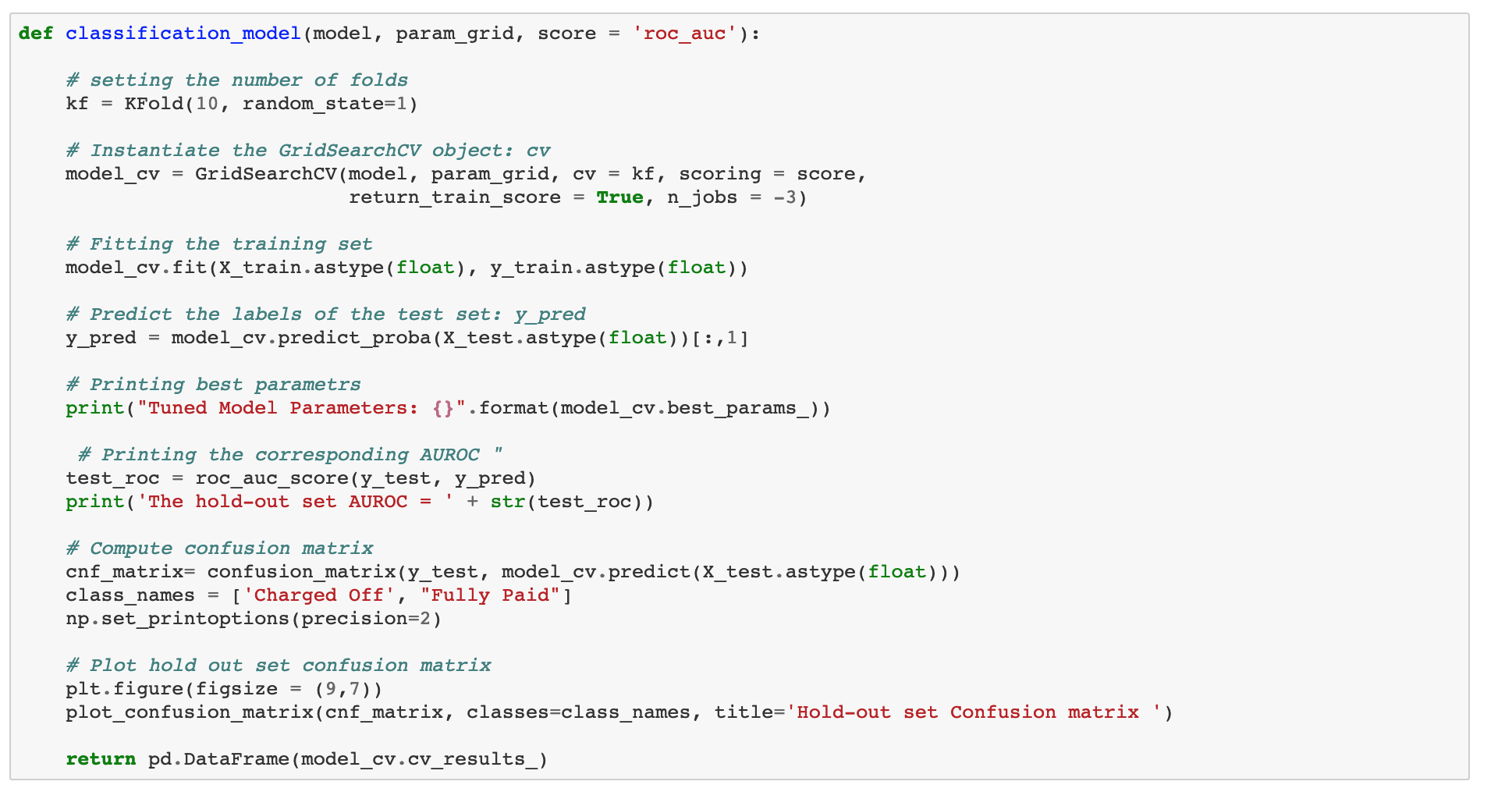 Paul's cross validation code