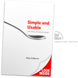 simple and usable ux book