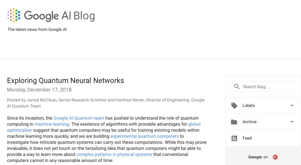 The Google AI Blog