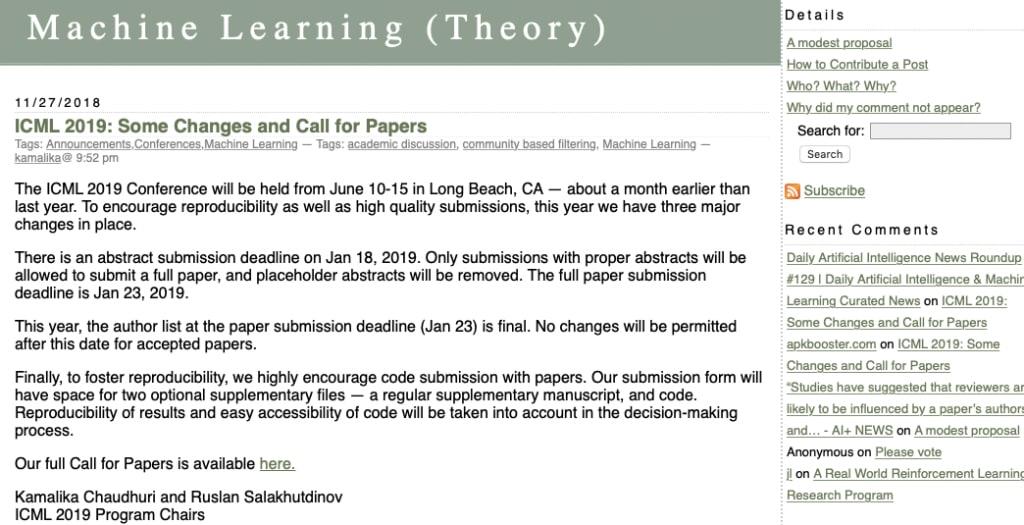 Machine Learning (Theory)