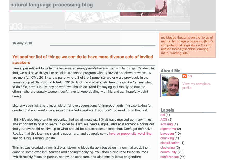 Natural Language Processing Blog
