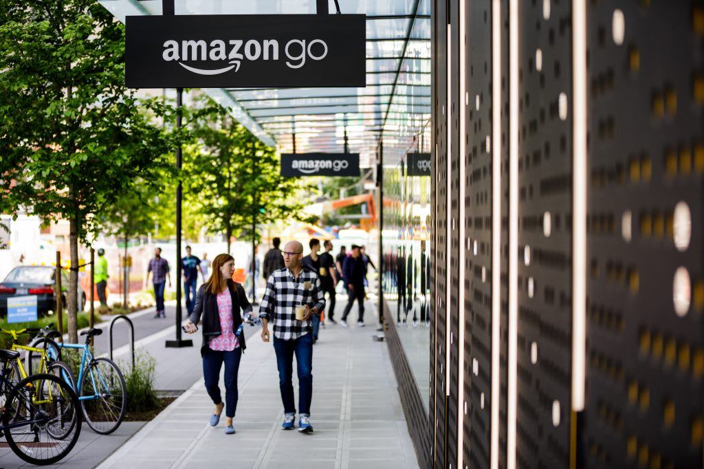 Amazon Go's first store