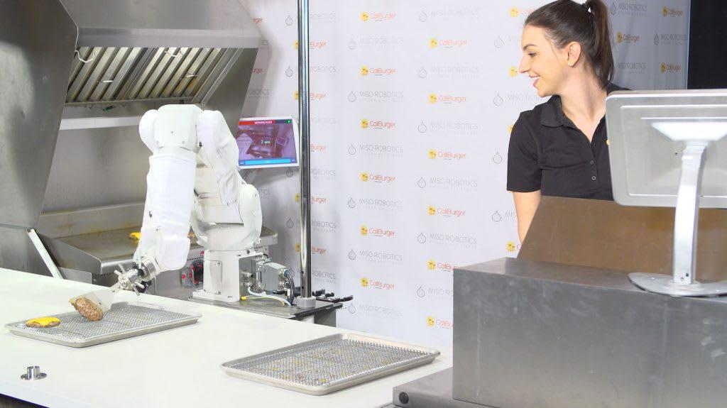 Flippy the burger-grilling robot