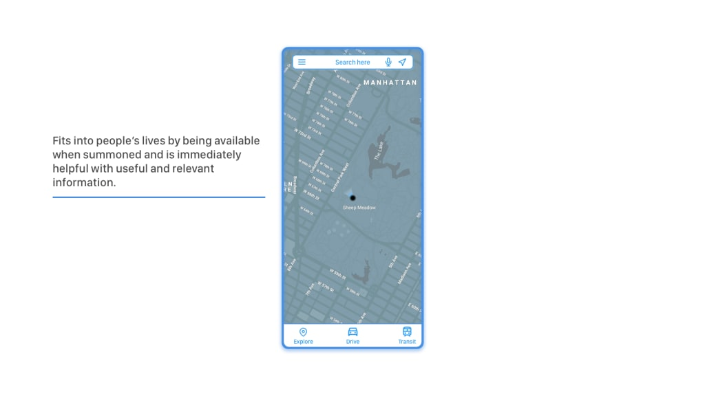 The UX of Google Maps