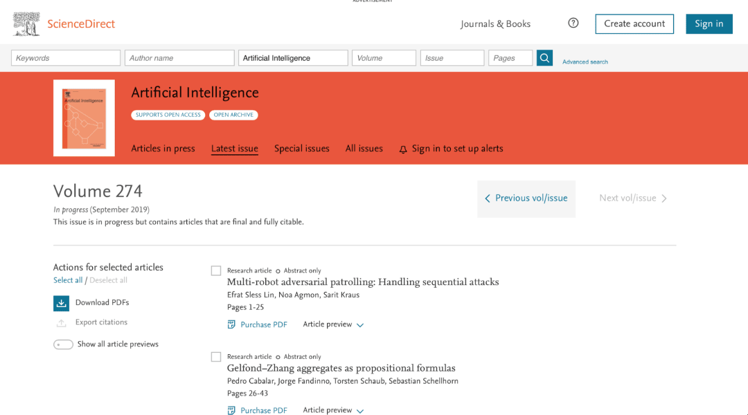 AI research papers