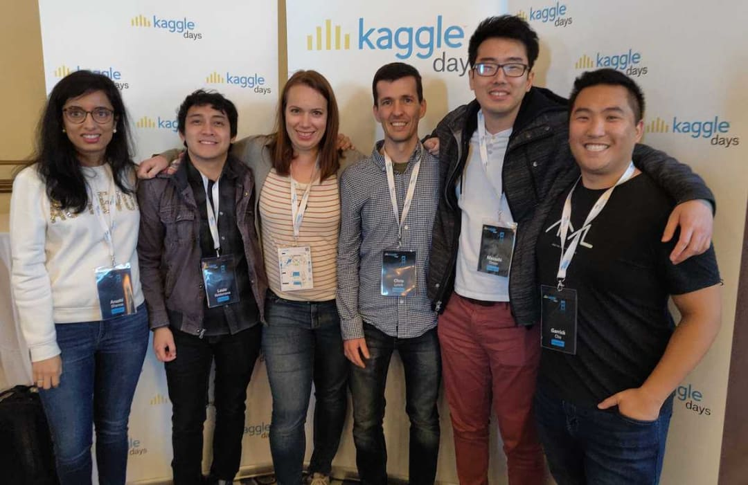 Garrick Chu at Kaggle Days