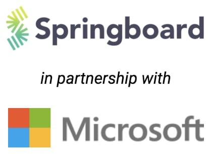 Springboard in partnership with Microsoft
