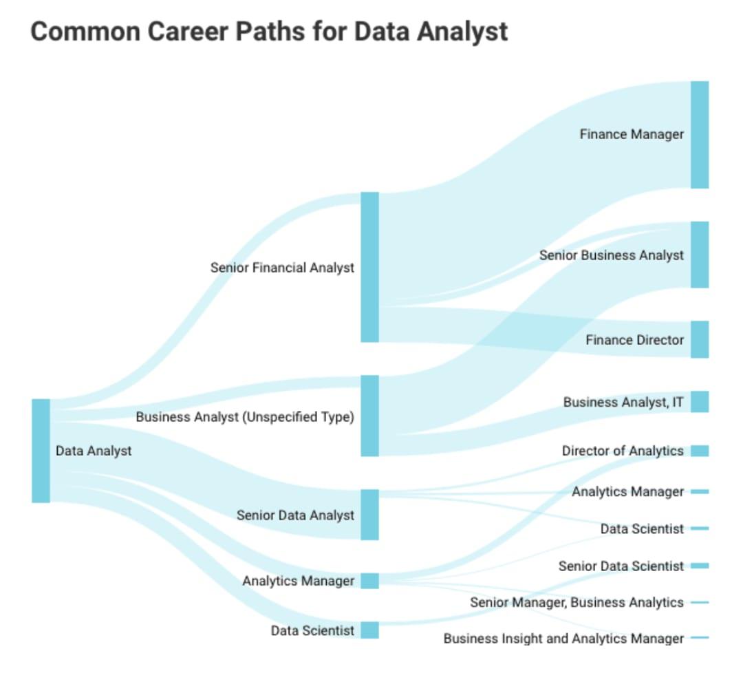 Data analyst career paths
